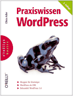Praxiswissen WordPress 2. Auflage Cover